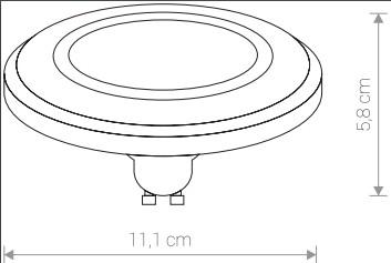 Лампа ES111 LED DIFFUSER 3000K 9342