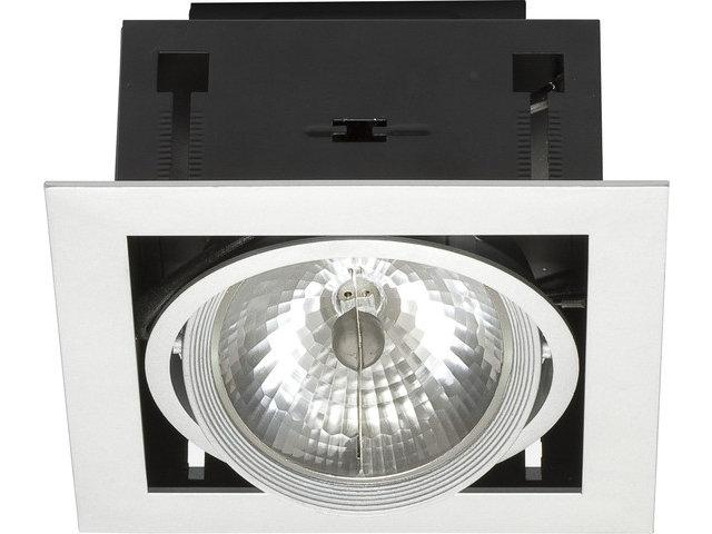 Светильник DOWNLIGHT белый/черный 4870, врезной
