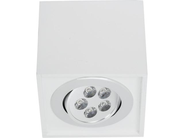 Светильник BOX LED белый 6415, накладной