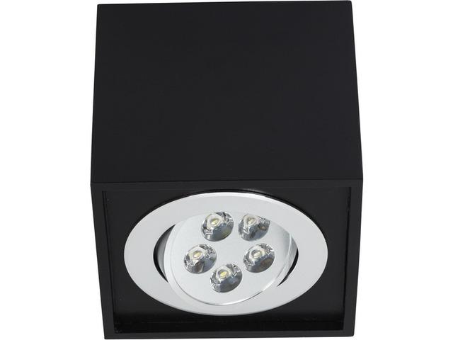 Светильник BOX LED черный 6421, накладной