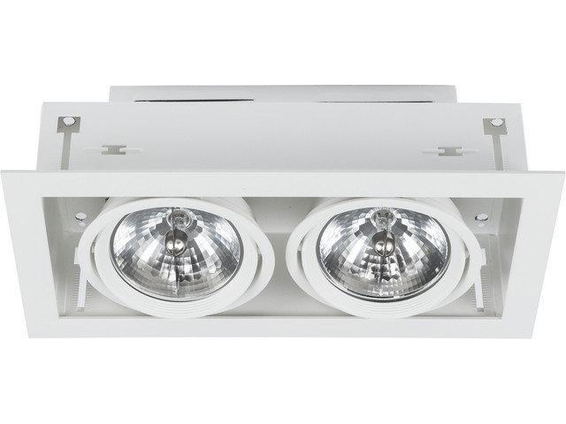 Светильник DOWNLIGHT белый 6453, врезной