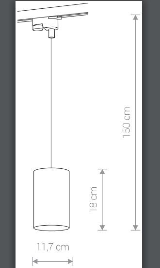 Светильник PROFILE BIT 9333, трековый