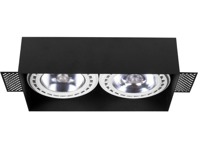 Светильник MOD PLUS черный 9403, безрамочный