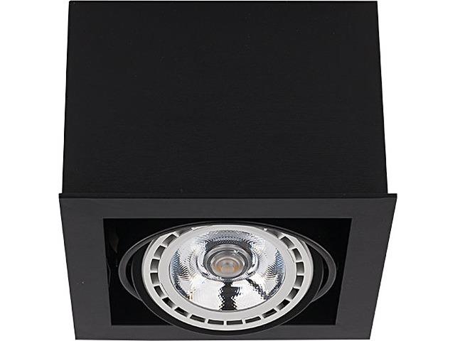Светильник BOX ES111 черный 9495, накладной