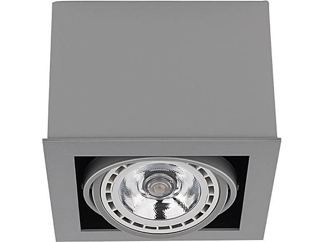 Светильник BOX ES111 серый 9496, накладной