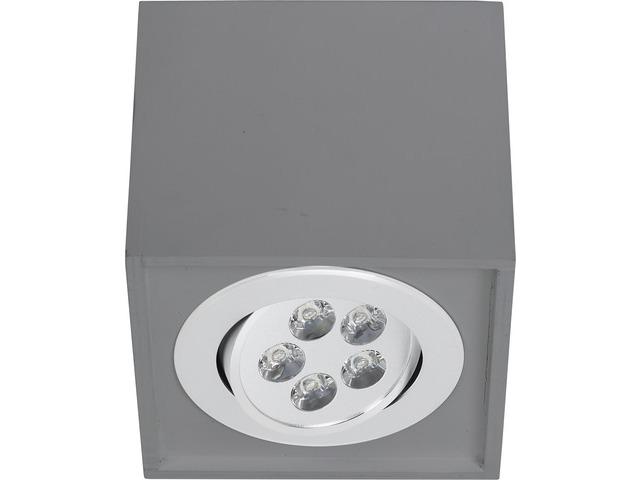 Светильник BOX LED серый 9630, накладной