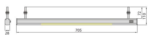 Светильник ALBI 8 4000K Brilum