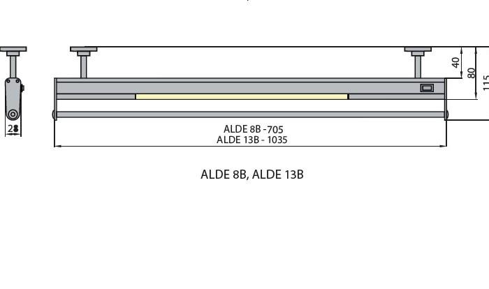 Светильник ALDE 13B 4000K Brilum