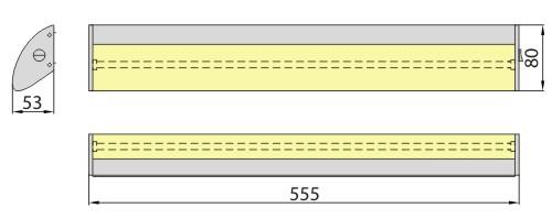 Светильник AVRA 13 6400K Brilum