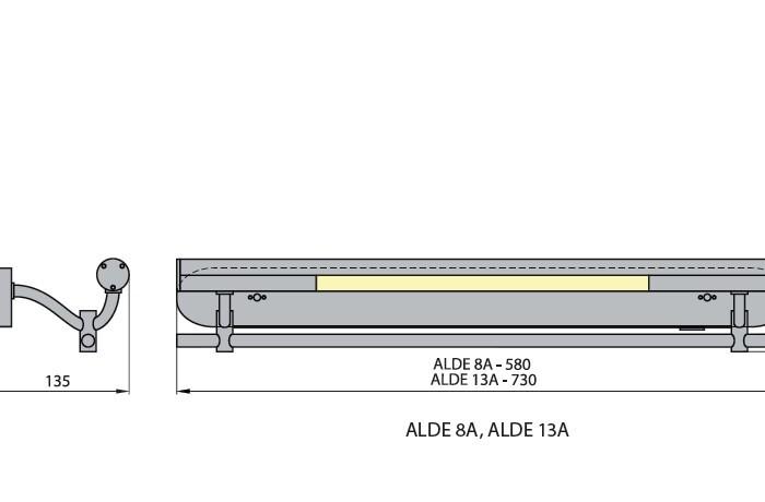 Светильник ALDE 13A 4000K Brilum