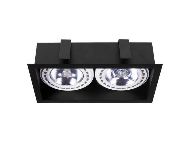 Светильник MOD черный 9416, врезной
