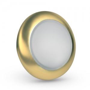 Светильник врезной M-70 античное золото, Brilum