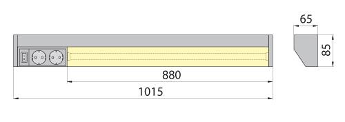Светильник REGA 21 6400K Brilum