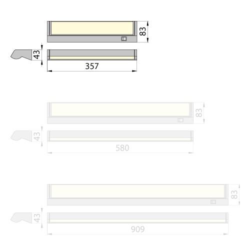 Светильник Arona 8 6400K Brilum
