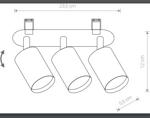 Светильник EYE FIT 9394 встроенный