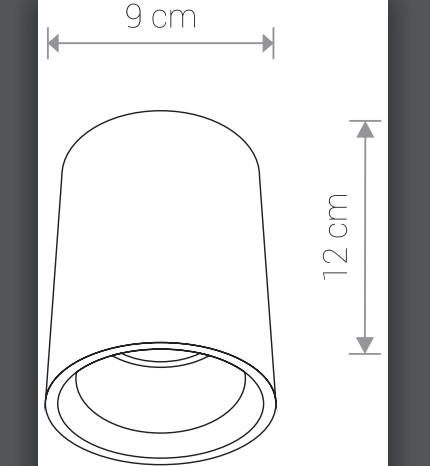 Светильник SHY 9390 накладной