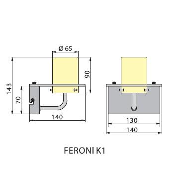 Бра FERONI K1, Brilum