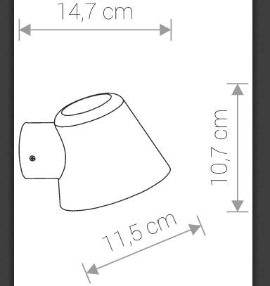 Светильник SOUL белый 9556 внешний
