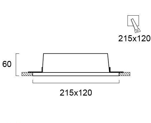 Светильник точечный гипсовый 4081400, Viokef