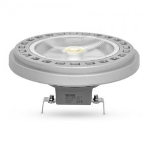 Лампа светодиодная AR111 GU10 LED COB 15W 30°, 12V