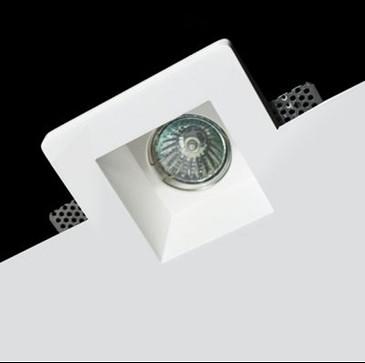 Светильник точечный гипсовый GIPS white Q