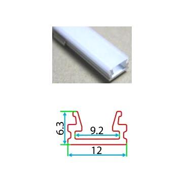 Профильный линейный PSN 6 12, накладной