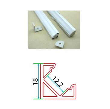 Профильный линейный PSNg 18, накладной угловой