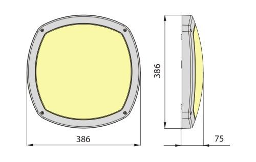 Светильник SELIA 214 IP65 ELGO