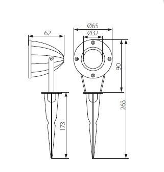 Монтажная основа штырьковая K-42