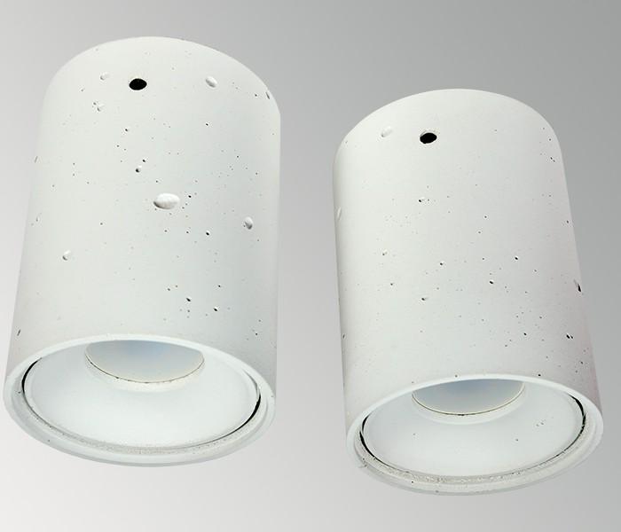 Светильник из бетона СПОТ СН001 белый, AGARA