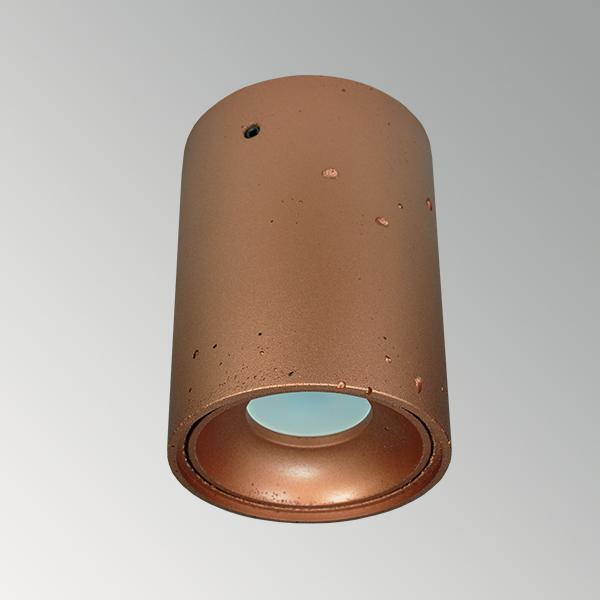 Светильник из бетона СПОТ СН001 металлик медь, AGARA