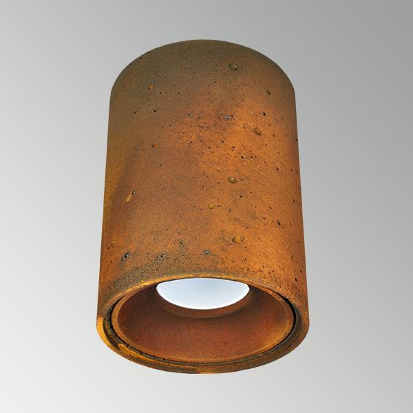 Светильник бетонный СПОТ СН001 металлик ржавый металл, AGARA