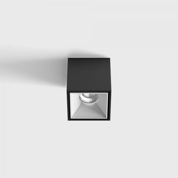 Светильник потолочный накладной BLOCK w/b, LED 10W, LTX