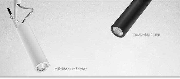 Светильник потолочный PETPOT mini LED reflektor, AQForm
