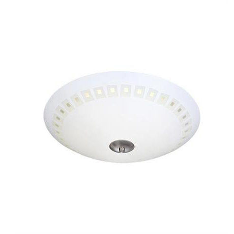 Плафон ADRIA 35см белый/хром 106410, Markslojd