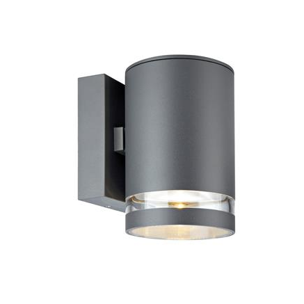Светильник фасадный односторонний IRIS серый 106515, MARKSLOJD