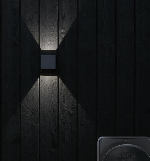 Светильник фасадный ARGOS 4W серый 106521, MARKSLOJD