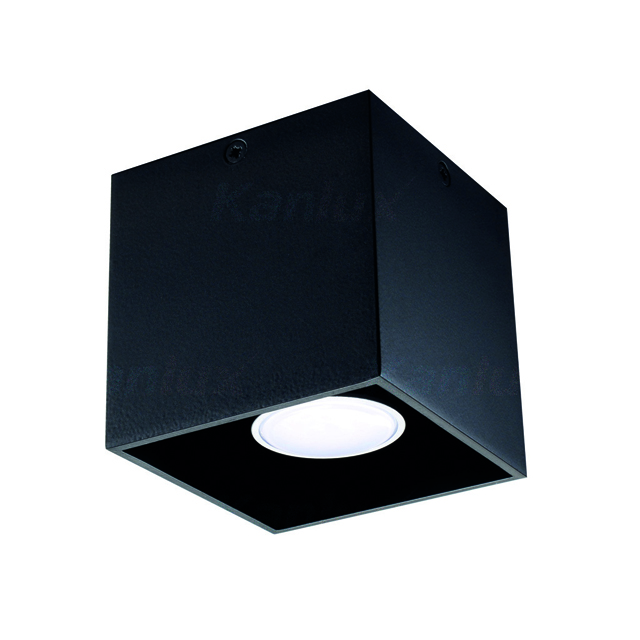 Светильник накладной ALGO GU10 CL-B (27030) черный