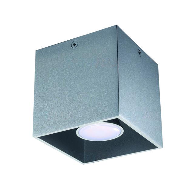 Светильник накладной ALGO GU10 CL-GR (27031) серый