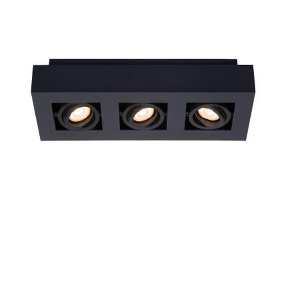 Светильник XIRAX LED DIM 3*5W 09119/15/30 черный, Lucide