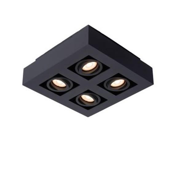 Светильник XIRAX LED DIM 4*5W 09119/20/30 черный, Lucide