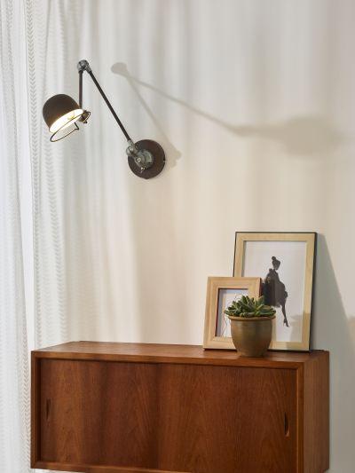 Бра HONORE 45252/11/97 ржавый коричневый, Lucide