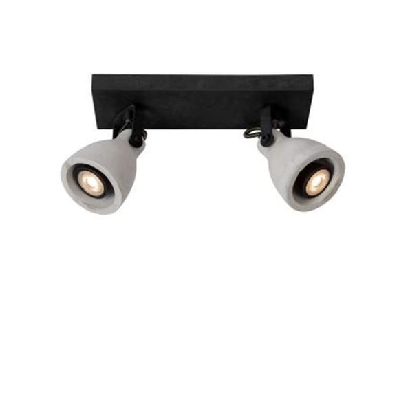 Светильник CONCRI LED DIM 2*5W 05910/10/30 черный, Lucide