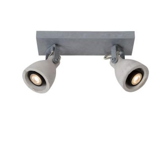 Светильник CONCRI LED DIM 2*5W 05910/10/36 серый, Lucide