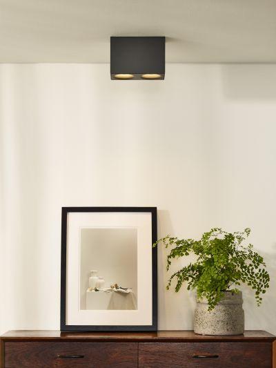 Светильник BENTOO LED DIM 2*5W 09913/10/36 серый, Lucide