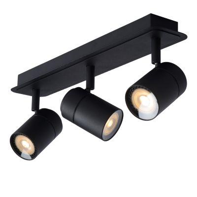Светильник LENNERT LED DIM 3*5W 26958/15/30 черный IP44, Lucide