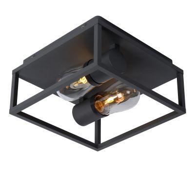 Светильник CARLYN E14 черный 27100/02/30 IP54, Lucide