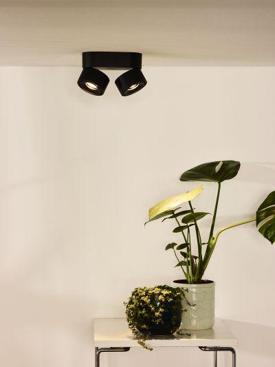 Светильник YUMIKO LED DIM 2*8W 35911/16/30 черный, Lucide