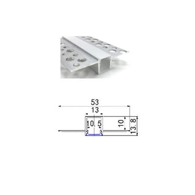 Профиль алюминиевый PSNG 11, врезной