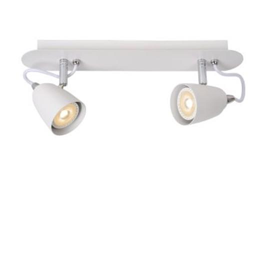 Светильник RIDE LED DIM 2*5W 26956/10/31 белый, Lucide